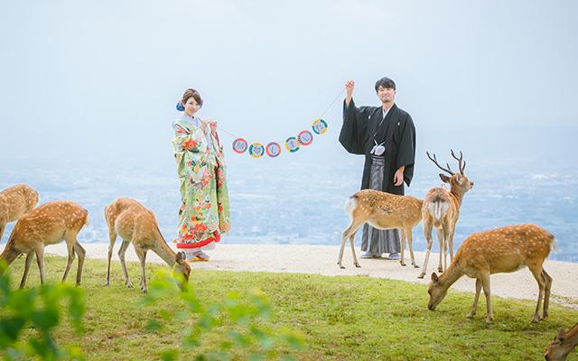 若草山 結婚写真